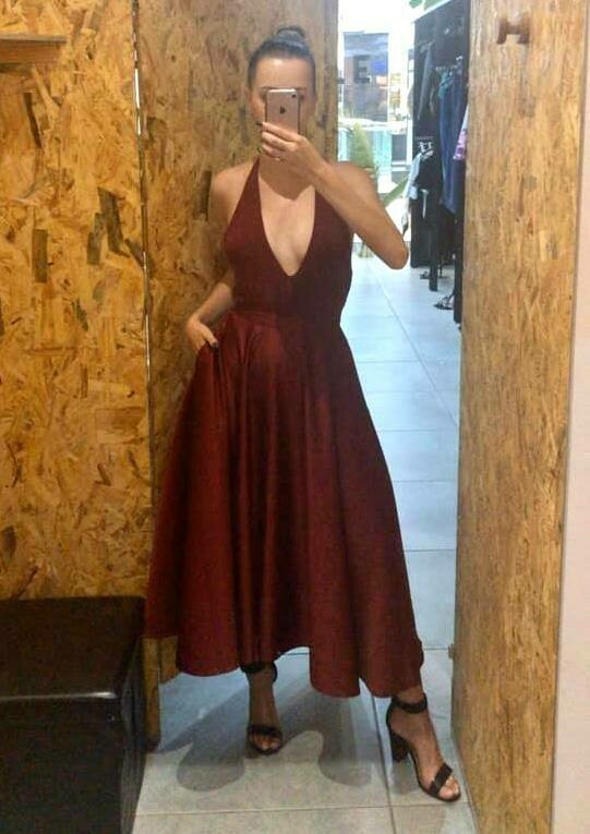 The Audrey skirt Maroon shimmer 36/38