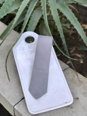 Grey Skinny Tie