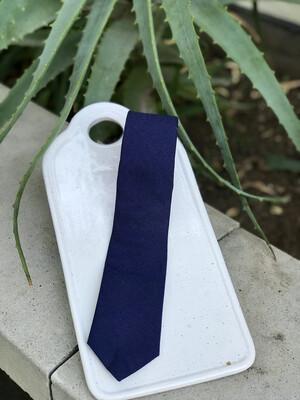 Navy Skinny Tie