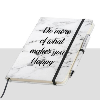 Love & Sparkles Marble Notebook