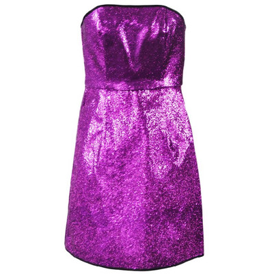 Glitter cocktail dress