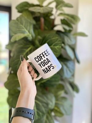 Coffee, Yoga, Naps
