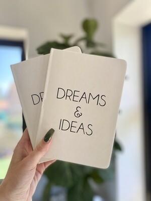 Dreams & Ideas Notebook