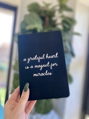 Grateful Heart Notebook