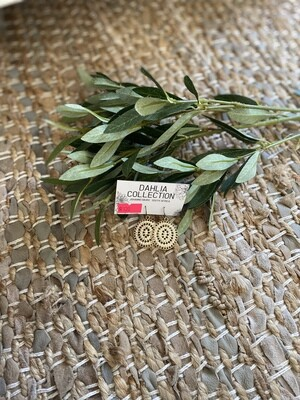 Sparkle Circle Earrings