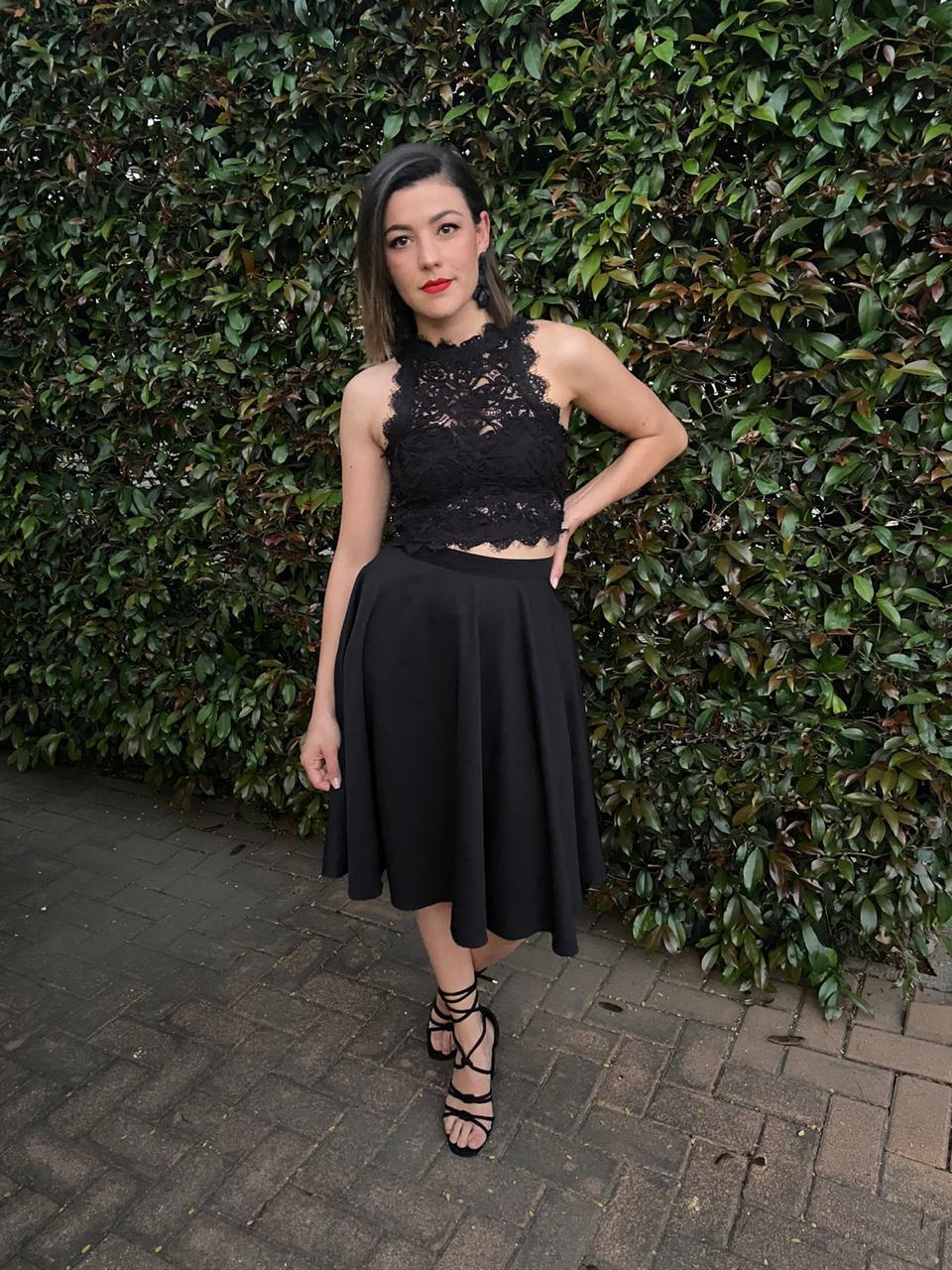 Audrey Mini Skirt black size 30