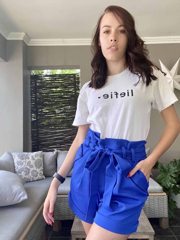 Nadine Shorts Cobalt