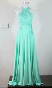 Tanya Infinity dress long- Mint