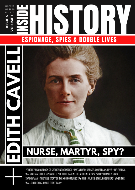 (UK Delivery) Inside HIstory: Espionage, Spies & Double Lives