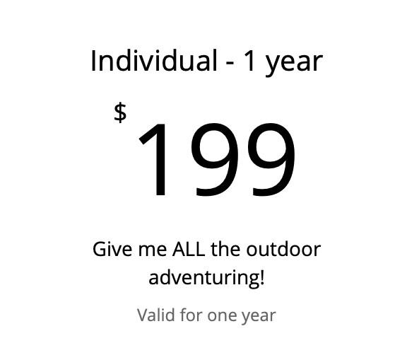 Individual - 1 year membership