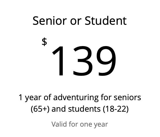 Senior / Student - 1 year