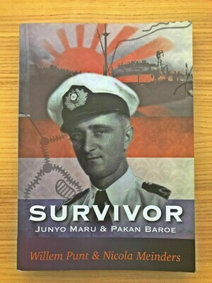 English Version - In Stock & on SALE - Survivor - The Story of Willem Punt
