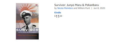 eBook - English version - Survivor - buy direct from Amazon for Kindle