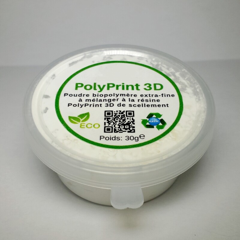 Poudre bio-polymère pour résine de scellement (épaississant) 35 g