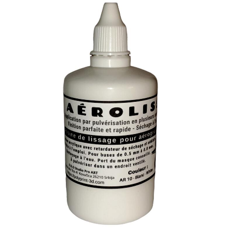 2 x Aérolisse apprêt de finition de lissage à l'aérographe 2 en 1 - 100 ml