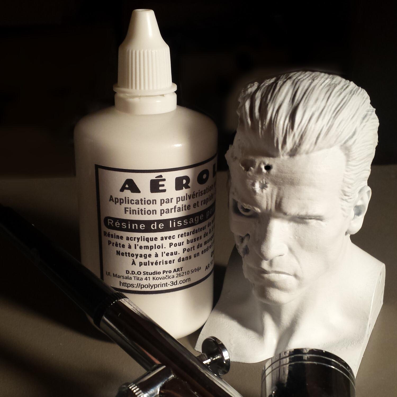 Aérolisse apprêt de finition blanc optimise le rendu des couleurs 2 en 1 - 100 ml