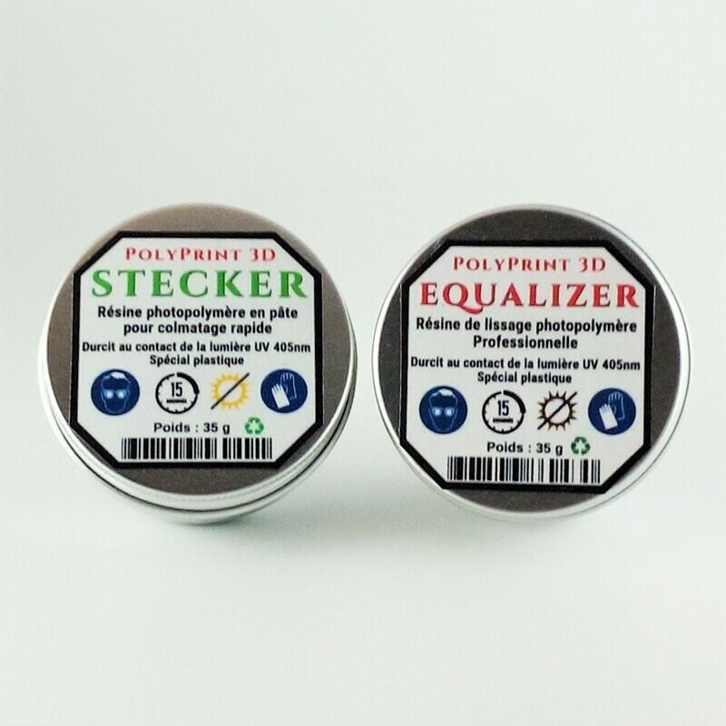 Résine de Colmatage et de Lissage en 15 s ECO DUO 40 g