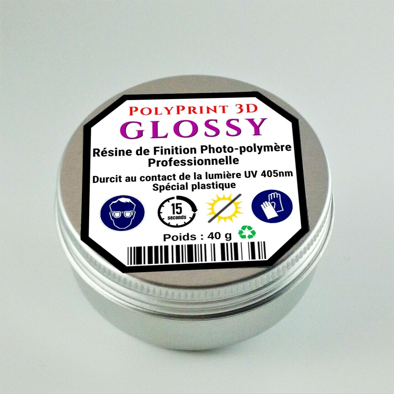 Résine Photo-Polymère de Finition Brillante GLOSSY ECO  40 g