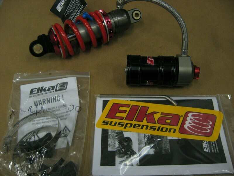 ELKA 218mm Shock Made in Canada Fully Adjustable Compression and Rebound Clicker Controls fits MR125 and 2020 MR150R Model