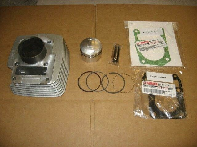 KAYO MiniGP MR125 (150 Big Bore Kit) Cylinder with Big Bore Piston Kit and Gaskets Included for the 2012-2016 Yamaha based Engine models
