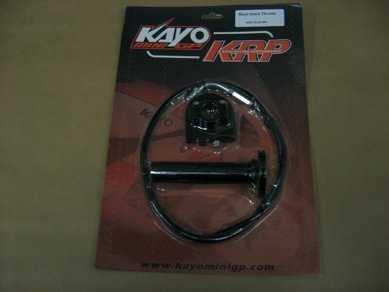 KAYO MiniGP MR125 - 150 Big Bore - Quick Throttle Kit for North American - European - 2012-2016 Yamaha Based Engine Models
