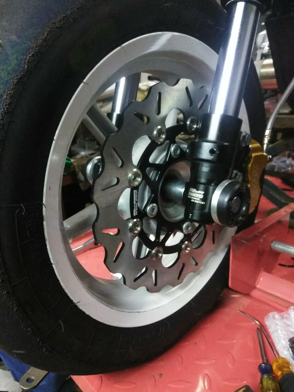KAYO MiniGP Front Axle Sliderss