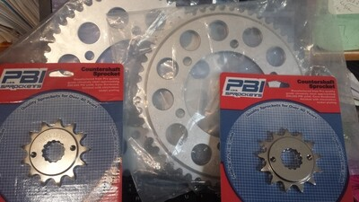 520 Chain and Sprocket Conversion Kits for SV650 and SV1000