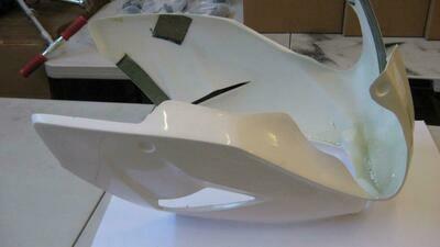 KAYO MiniGP Upper Fairing for MR125 - MR150R - NSR50 - NSF100