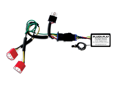 Plug & Play™ Headlight Module with Dual H4 Harness for SV1000 Combo from Signal Dynamics
