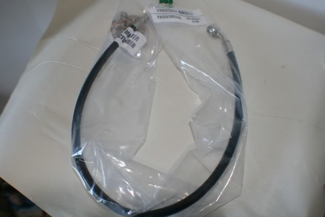 Galfer 2012 and Newer DL650abs Black SS ExtendedTop Front Brake Line Kits