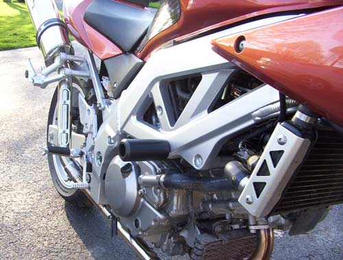 SV650N, SV650s and SV1000 99 - 2016 Motoslider Frame and Swing Arm Sliders Combinations