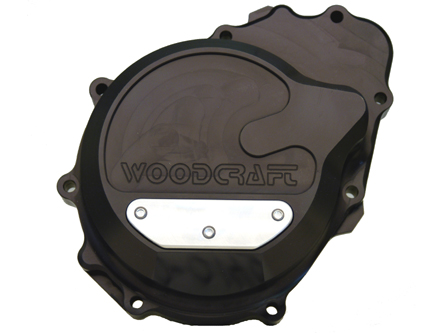 Woodcraft Kawasaki 03 - 04 ZX6R-RR Engine Covers