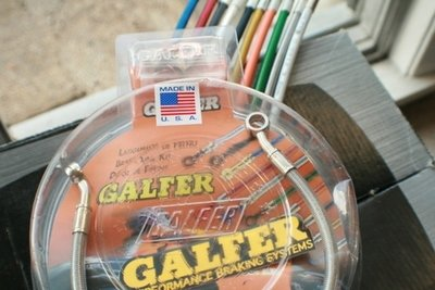 Galfer Silver Stainless Steel Clutch Line Kits