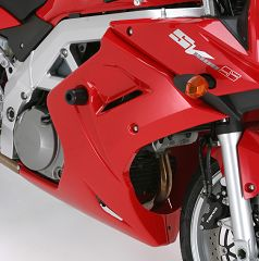 SV1000 MotoSliders No Cut Frame Sliders and Swing Arm Sliders Combination