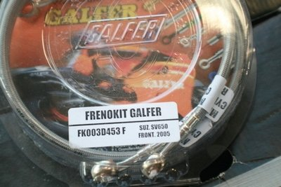Galfer Black SS SV650 Front Lines