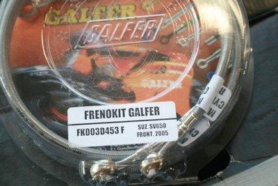 Galfer Black SS SFV Gladius Rear Brake Lines