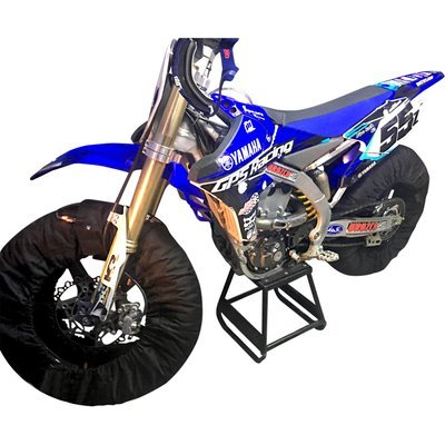 17 Inch Flat Track, Pro Level 3 Temperature Tire Warmers for 120 Front - 120 Rear Tires on MiniMotard