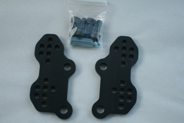 Suzuki SV650 SV650s 1999 - 2016 Adjustable Rear Set Riser Plates