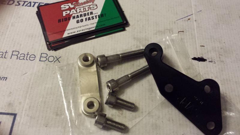 Ninja 300 Brake Caliper Adapter Brackets