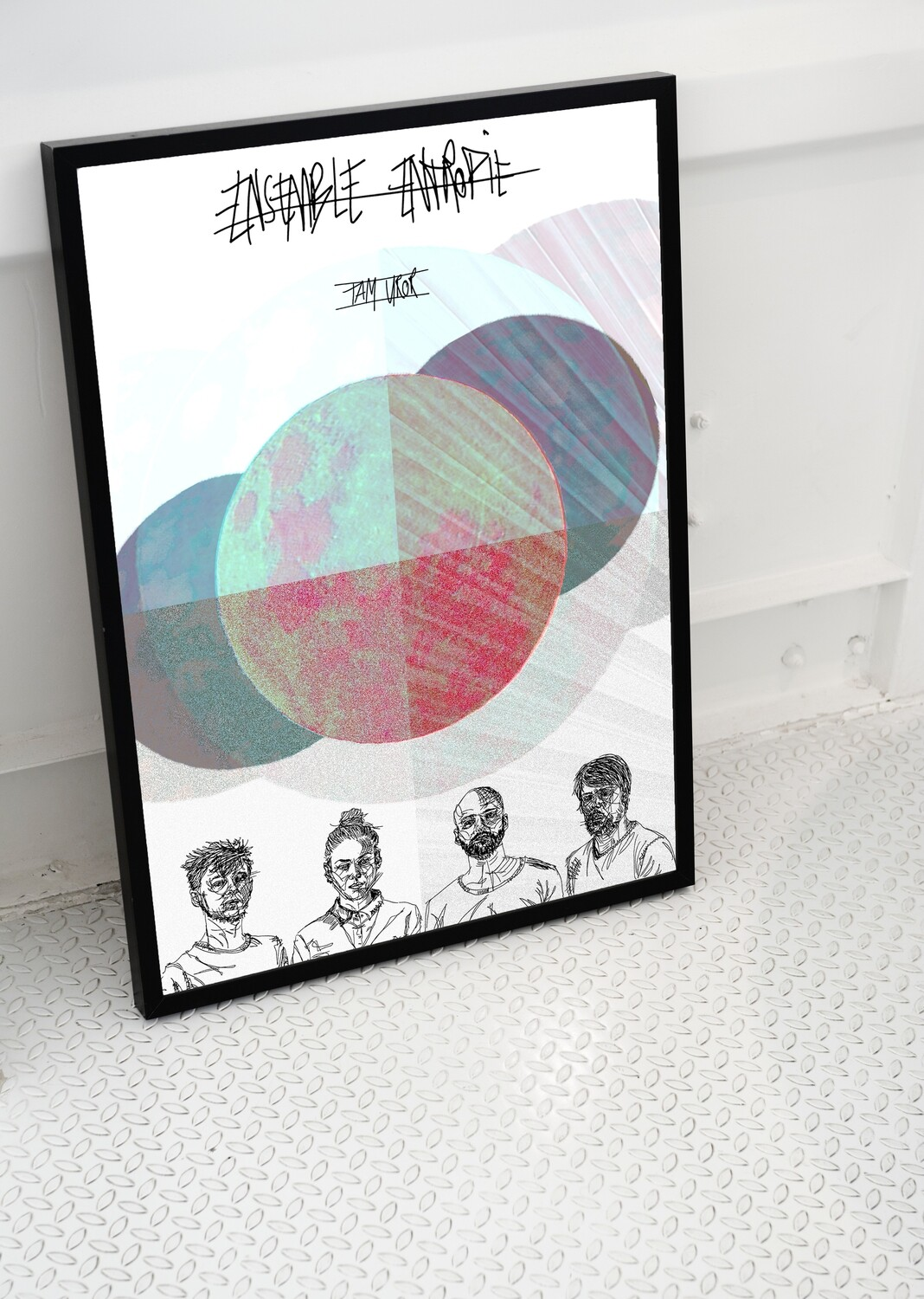 POSTER : AQUARELL MOON EDITION DIN A2