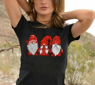 Three Gnomes Shirt Gnome Lovers Tee Gnome Heart t shirt Gnome Christmas T-Shirt Gift Long Sleeve Hoodie Sweatshirt
