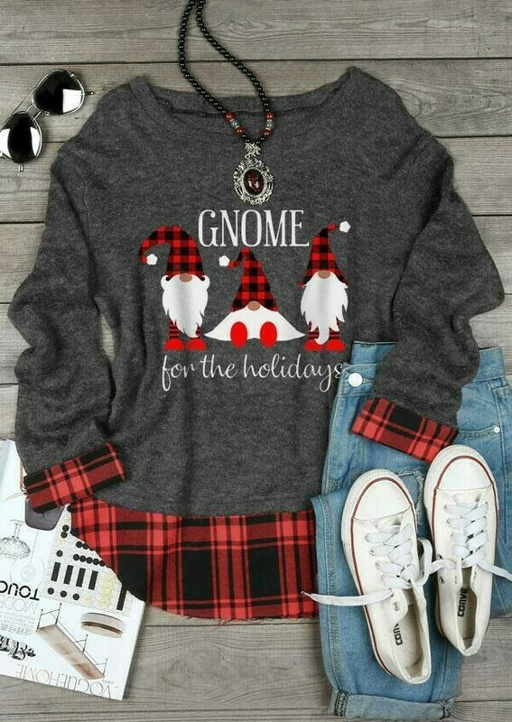 Three Gnomes Shirt Gnomes For The Holidays Gnome Lovers Tee Gnome Heart t shirt Gnome Christmas T-Shirt Gifts Jolly Family Gifts