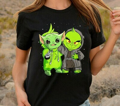 Grinch and star was Long Sleeve Sweatshirt Hoodie Jolly Family Gifts