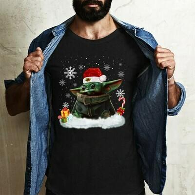 star wars yoda Long Sleeve Sweatshirt Hoodie Jolly Family Gifts