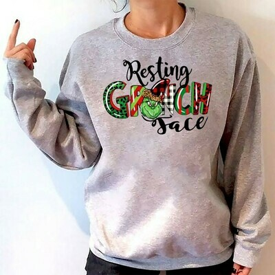 I Just Took A DNA Test Turns Out I'm 100 That Grinch Merry Christmas Xmas Gifts Noel Holly Jolly Holiday Family Friends Team Party T-Shirt Long Sleeve Sweatshirt Hoodie Jolly Family Gifts