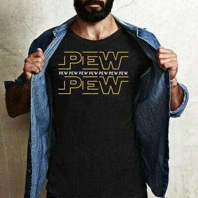 Star Wars Pew pew pew Long Sleeve Sweatshirt Hoodie Jolly Family Gifts