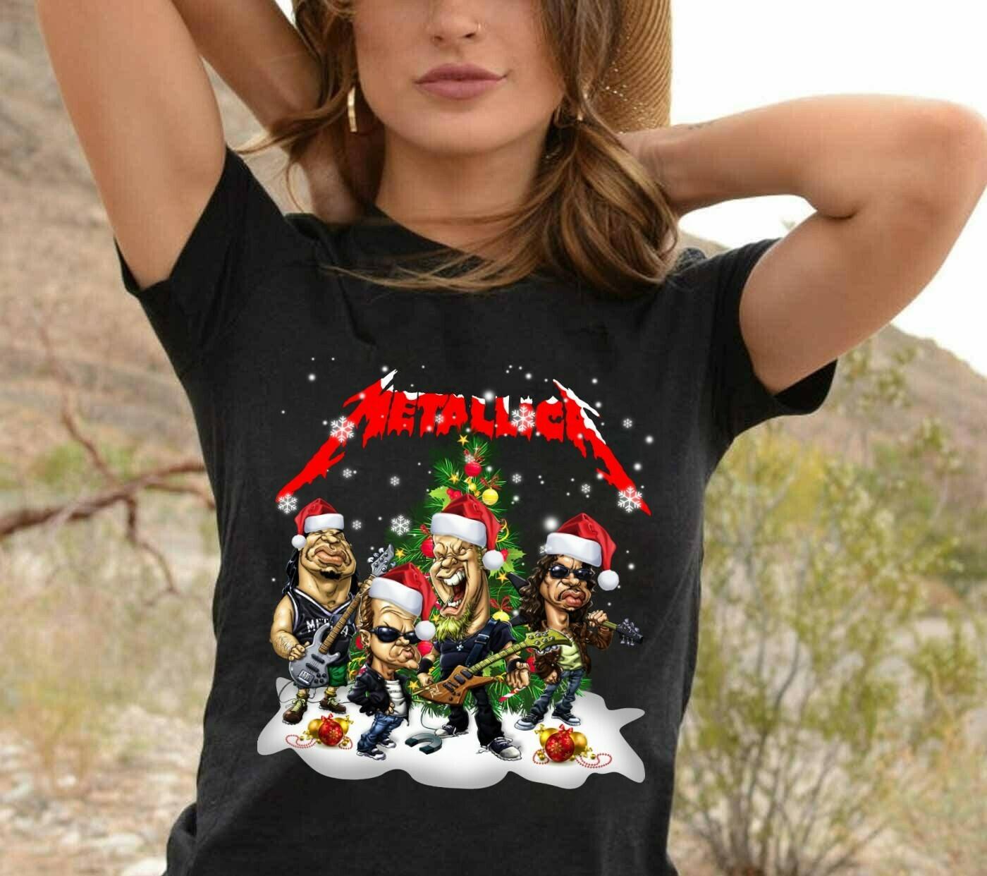 Metallica Long Sleeve Sweatshirt Hoodie Jolly Family Gifts