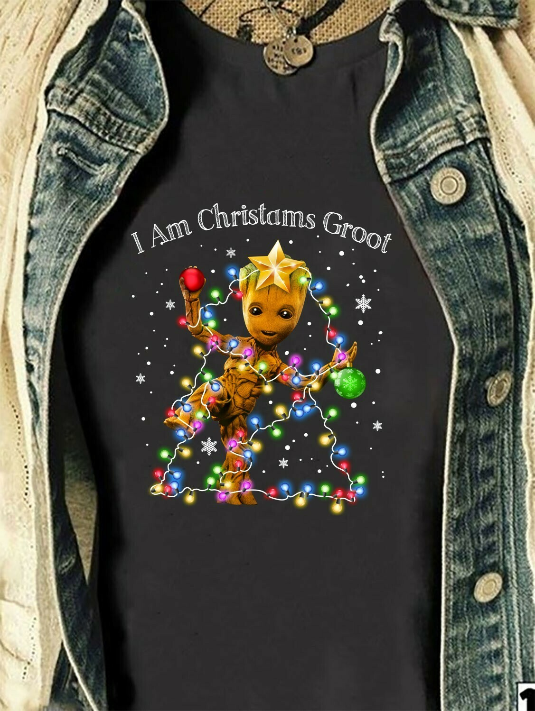 Star War Yoda And Groot Christmas Anakin Skywalker Aka Darth Vader Sith Lord Stormtrooper Soldier Holiday Christmas Gift for Women Men Shirt Long Sleeve Sweatshirt Hoodie Jolly Family Gifts