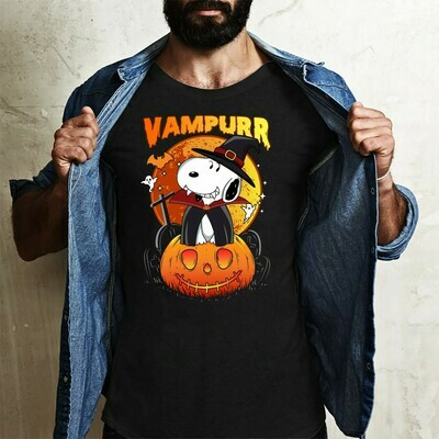 Snoopy Vampire Vampurr Snoopy In The Moonlight Trick Or Treat Witch Halloween Costume Gifts for Best Friend Family Vacation Gifts T-Shirt Long Sleeve Sweatshirt Hoodie Jolly Family Gifts