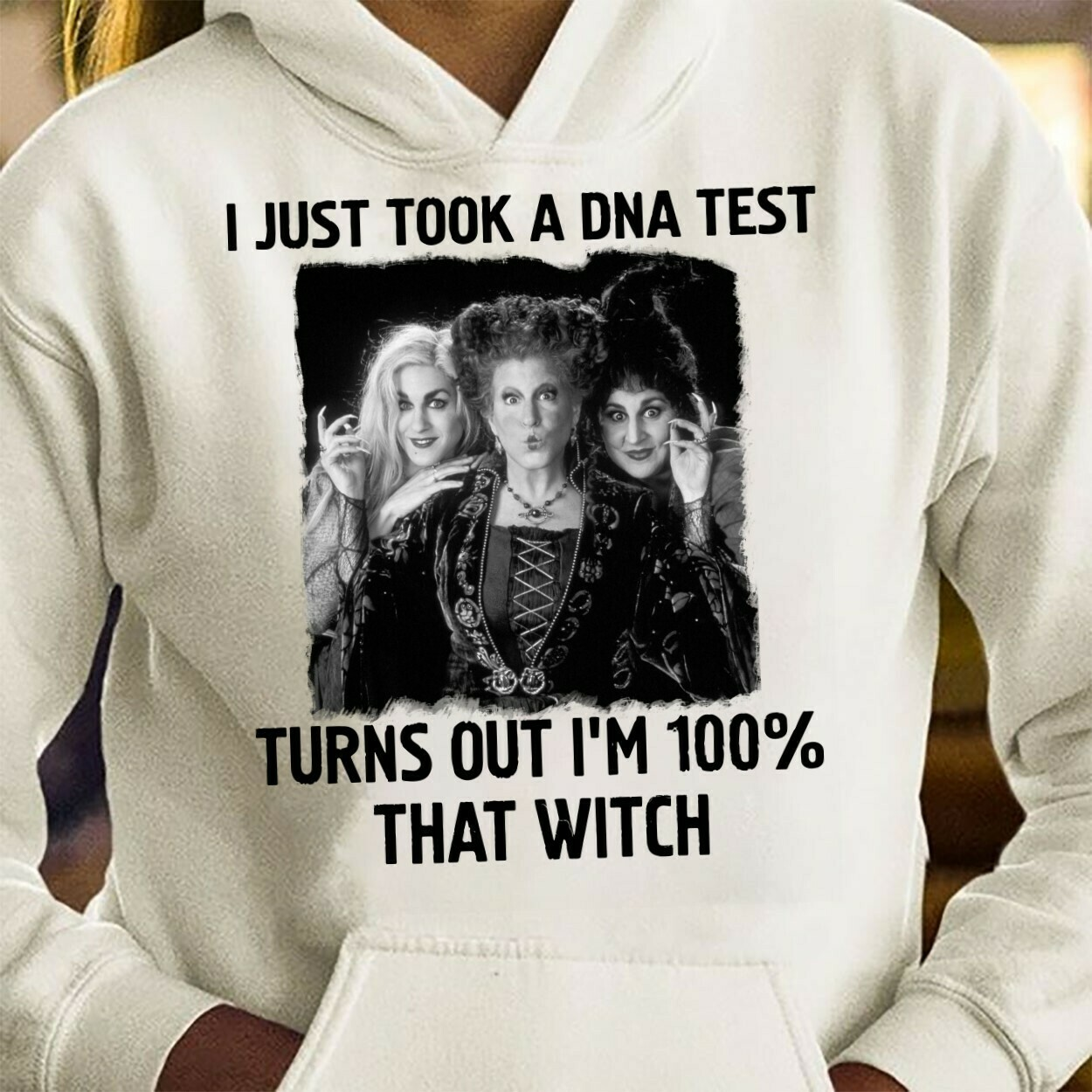 I Just Took A DNA Test Turns Out I'm 100% That Witch Bad Girls Have More Fun Walt Disney World Disneyland Park Vacation T Shirt Long Sleeve Sweatshirt Hoodie Jolly Family Gifts
